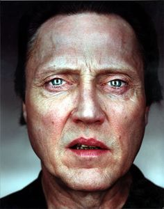 Walken by Martin Schoeller I love the honesty in these portraits of Schoeller. No make-up, no flattering lighting, no pretence. Although, Walken looks more creepy than usual. Martin Schoeller, Jack Nicholson, Celebrity Photography, Celebrity Portraits, Celebrity Headshots, Celebrity Smiles, Christian Bale, Foto Portrait, Portrait Photography