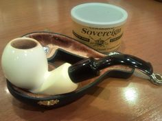 McClelland Sovereign and IMP Meerschaum Pipe