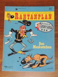 Rantanplan Band #1 Das Maskottchen (Delta Verlag) Western Comics, Lucky Luke, Westerns, Comic Books, Ebay, Drawing S, Comic Strips, Cartoons