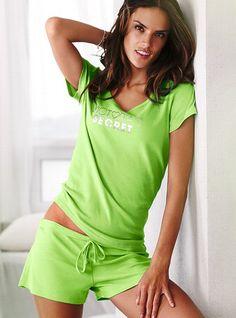 Boxer Pajama - Signature Cotton - Victoria's Secret