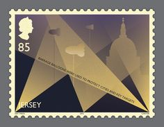 Battle of Britain Stamps   Illustrated Commemorative British Postal Stamps   Award-winning Graphic Design   D&AD