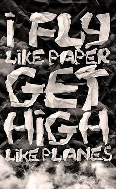 Fly like paper, get high like planes