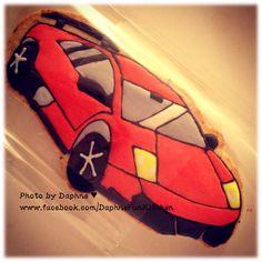 Lamborghini cookie