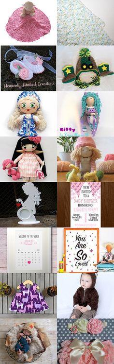 Baby Fever!! by Becky Niedzielski on Etsy--Pinned with TreasuryPin.com