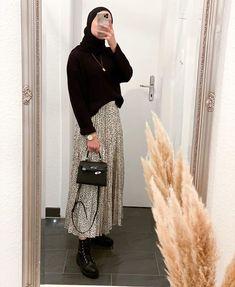 Modest Fashion Hijab, Modern Hijab Fashion, Muslim Women Fashion, Street Hijab Fashion, Casual Hijab Outfit, Hijab Fashion Inspiration, Modest Outfits, Look Fashion, Fashion Outfits
