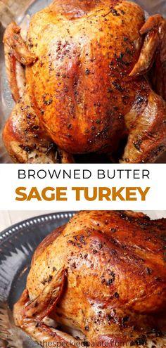 Browned Butter Sage Turkey