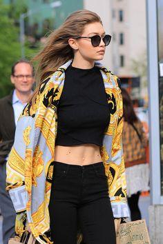 The Secret to Gigi Hadid's Supermodel Abs