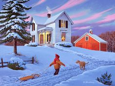 Coming Home | John Sloane Art