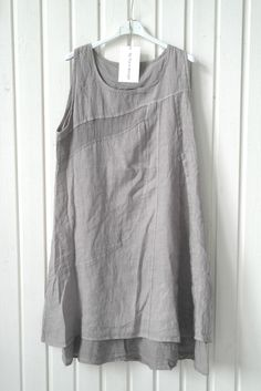 LOTTA Linen Dress, Taupe - Linen Dresses - By Pia's Design