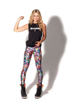 Candy Leggings (Made to Order) | Black Milk Clothing
