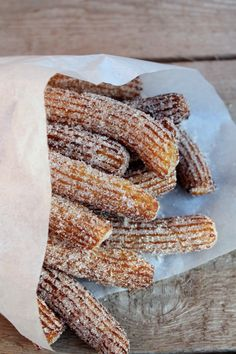 Easy Churros Recipe, Easy Cooking, Cooking Recipes, Kolaci I Torte, Hungarian Recipes, Sweet And Salty, Desert Recipes, Sin Gluten, Diy Food