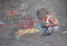 Original Kids Painting by Anita Bakos Abstract Portrait Painting, Flow Painting, Figure Painting, Mama Cat, Cherub, Urban Art, Art Tutorials, Saatchi Art, Original Paintings