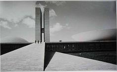 Lucien Hervé. Brasilia, architecte Oscar Niemeyer