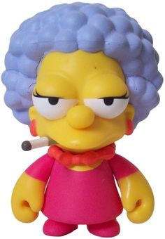 """Toy176 """"Patty Bouvier"""" by Matt Groening / Simpsons Series for Kid Robot (2010) #Toy"""
