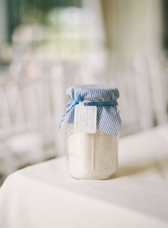 Cookie Mix in Jar Wedding Favor