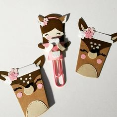 "Jody on Instagram: ""Experimenting With Some Coffee Embellishment Ideas. I got the idea for the deer cups from an adorable cookie I saw at the…"" Diy Paper, Paper Crafts, Pocket Cards, Scrapbook Embellishments, Happy Mail, Clipboard, Paper Clip, Travelers Notebook, Scrapbooks"