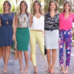 Stylish Work Outfits, Business Casual Outfits, Office Outfits, Business Fashion, Classy Outfits, Looks Chic, Casual Looks, Mom Outfits, Spring Outfits