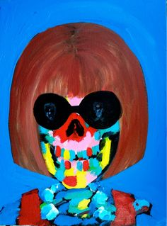 """Is that you, Ms. Wintour?  """"Inseparable_Anna"""" by Bradley Theodore"""
