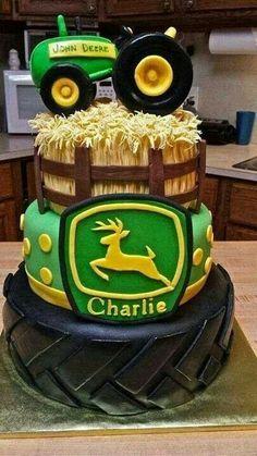 Awesome John Deere cake.