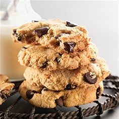Gluten-Free Almond Flour Chocolate Chip Cookies Recipe