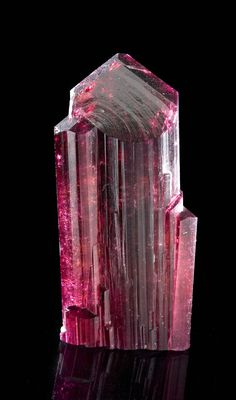 Rubellite Tourmaline from Russia (formerly known as Siberite) / Mineral Friends <3