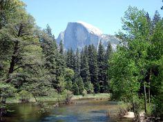 Half Dome and the Merced River--Yosemite National Park, CA   Christine B. © 2005