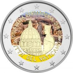 2 euro Vaticano 2016. Bicentenario del Corpo della Gendarmeria Vaticana