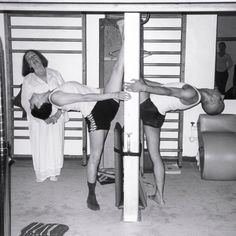 """Those who worked with Joseph Pilates, often referred to as """"The Elders,"""" put their personal spin on Pilates work. This created diversity in Pilates. Pilates For Men, Pilates For Beginners, Pilates Workout, Pilates Mat, Joseph Pilates, Muscles In Your Body, Muscle Body, Bodybuilding Motivation, Mens Fitness"""