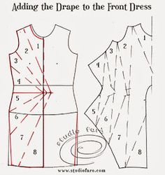 well-suited: Pattern Puzzle - Jersey Twist Dress*