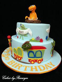 Dinosaur+Train+Cake+for+Riley