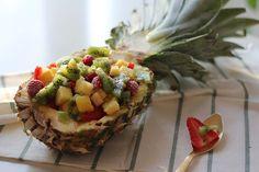 Esta saludable #receta de macedonia de frutas es perfecta para merendar, desayunar o cenar #LaBuenaMesa