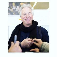 Alan's smile - as a way of life . Stupidest hashtags :#like #followhim #alan_rickman #always #my_love_rickman #alan #rickman #love…