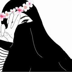 Anime Muslim, Muslim Hijab, Islam Muslim, Muslim Girls, Muslim Women, Hijab Drawing, Hijab Style Tutorial, Arabian Women, Ideal Girl