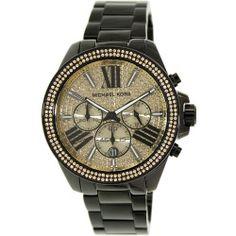 Michael Kors Women's Wren MK5961 Black Stainless-Steel Quartz Watch