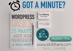 (1) WordPress Basics: Create a Website in 15 Minutes - Skillshare