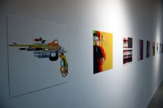 """Some cool art from Futura's """"Introspective"""" exhibition."""