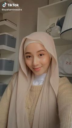 Stylish Hijab, Modest Fashion Hijab, Modern Hijab Fashion, Street Hijab Fashion, Hijab Fashion Inspiration, Muslim Fashion, Hijab Turban Style, Mode Turban, Simple Hijab Tutorial