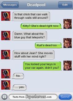 Deadpool Texts Cyclops [Pic]