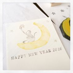 my new year card 2016