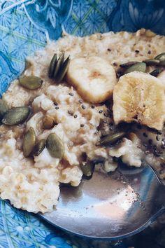 Almond milk porridge - recipe at ptitecuisine.wordpress.com