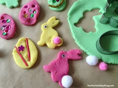 Play dough Easter activity