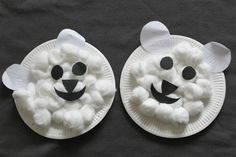 polar bear craft for kids
