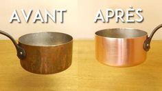 Nettoyez vos ustensiles en cuivre en un clin d'œil sans produits chimiques
