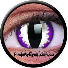 Purple Dragon Crazy Contact Lenses Pair - PimpMyEyes.com.au | PimpMyEyes