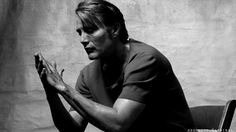 Mads Mikkelsen : Flaunt Magazine. By Sherlock-Hannibal. I'm in love with his hands!