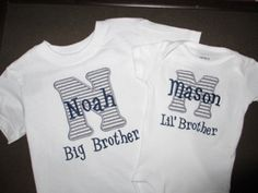 Big Cousin/Little Cousin/Big Brother/Little by InitialHereGifts, $40.00
