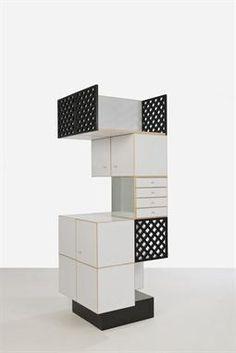 Ettore Sottsass (designer), chest of drawers, Contemporary Furniture, Contemporary Design, Modern Design, Memphis Milano, 1980s Design, Memphis Design, Modular Design, White Rooms, Interior Design Studio