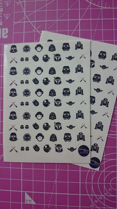 Star wars nail decals https://www.etsy.com/listing/231170055/star-wars-icon-waterslide-nail-decals