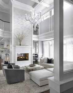House by Mitchell Wall Architecture & Design Living Room Tagged: Living Room. Photo 3 of 11 in Hampton's House by Mitchell Wall Architecture & DesignLiving Room Tagged: Living Room. Photo 3 of 11 in Hampton's House by Mitchell Wall Architecture & Design Elegant Living Room, Living Room Modern, Living Room Interior, Home Living Room, Living Room Designs, Living Area, Living Room Ideas Modern Contemporary, White Couch Living Room, Fancy Living Rooms