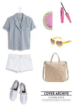 """""""Untitled #629"""" by vero199638 on Polyvore featuring Madewell, MANGO, Keds and MLC Eyewear"""